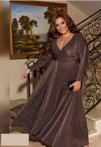 Платье длинное нарядное А55039