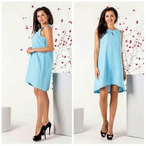 Платье короткое нарядное Ч2577