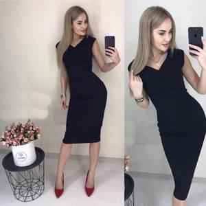 Платье короткое облегающее Ч3193