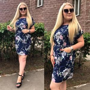 Платье короткое нарядное Ч4219