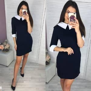 Платье короткое классическое Ч4598