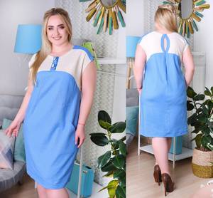 Платье короткое летнее Ч6977