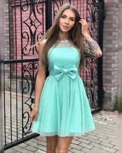 Платье короткое коктейльное Ч7297