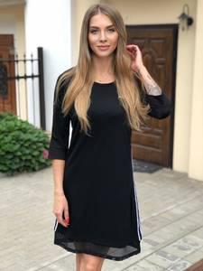 Платье короткое с рукавом 3/4 Ш1749