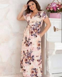 Платье длинное нарядное Ц7271