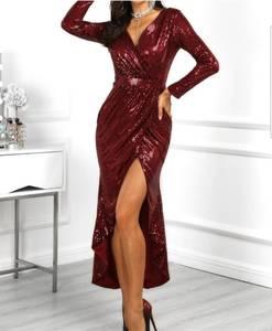 Платье длинное нарядное Ш5675