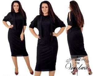 Платье короткое нарядное Ш8125