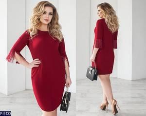 Платье короткое нарядное Ш8151