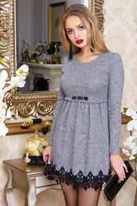 Платье короткое нарядное Ш8246