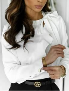 Блуза с длинным рукавом А24852
