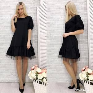 Платье короткое современное Ю2136