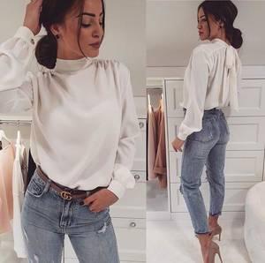 Блуза с длинным рукавом Ю2631
