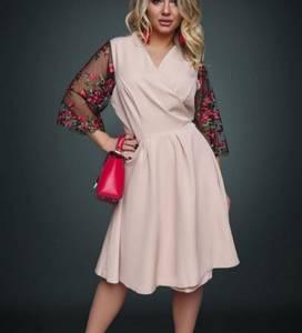 Платье короткое нарядное Ю2641