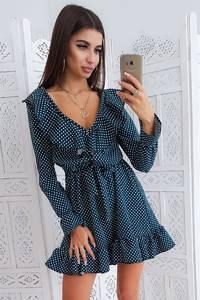 Платье короткое нарядное Ю3074