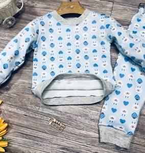 Пижама на флисе Ш0373
