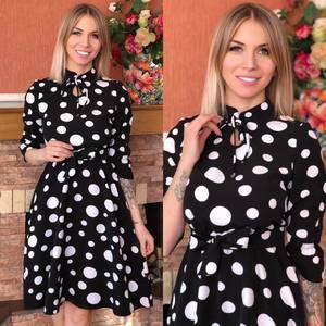 Платье короткое современное Ю6492