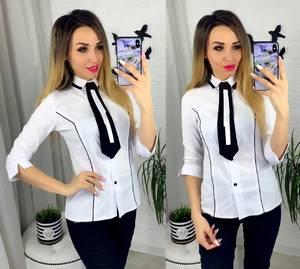 Рубашка белая Ю8954