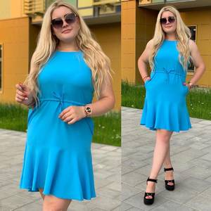 Платье короткое летнее Ш9797
