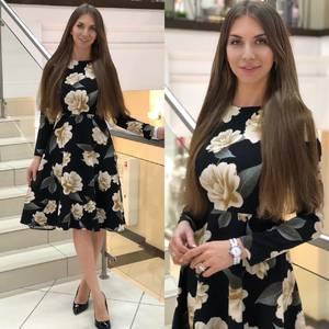 Платье короткое нарядное Ю4147