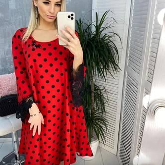 Платье короткое современное Я1545