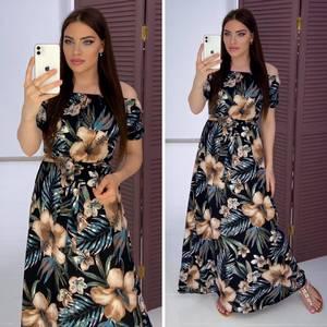 Платье длинное летнее Я9339