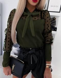 Блуза с длинным рукавом А02238