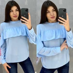 Блуза с длинным рукавом А07666