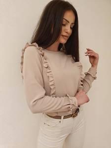 Блуза с длинным рукавом А30613