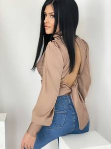 Блуза с длинным рукавом А33826