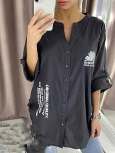 Рубашка с принтом А34390