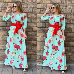 Платье длинное нарядное Ч4355
