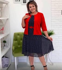 Платье Двойка короткое нарядное Я9286