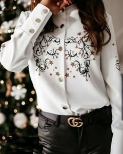 Рубашка с длинным рукавом А09691