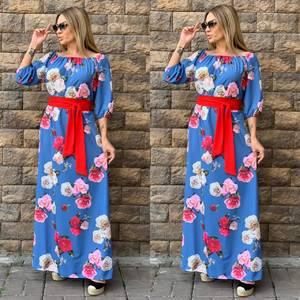Платье длинное нарядное Ч4356