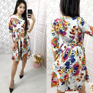 Платье короткое нарядное Ю4344