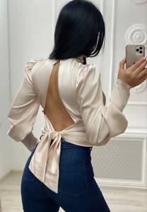 Блуза с длинным рукавом А33827