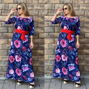 Платье длинное нарядное Ч4357