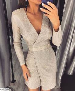 Платье короткое нарядное А59464