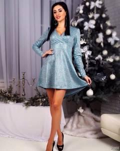 Платье короткое нарядное Ш8263