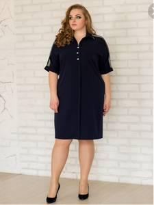 Платье короткое летнее А00594