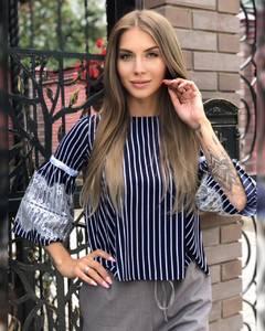 Блуза для офиса Ч7311