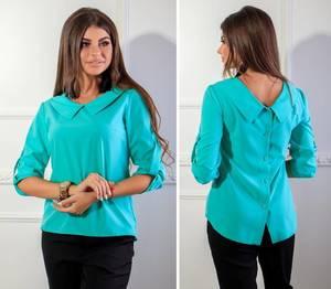Блуза с коротким рукавом Я1777
