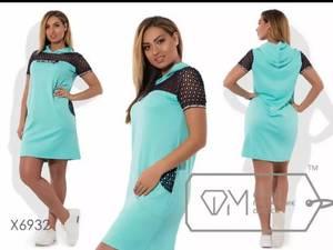 Платье короткое повседневное Ч3106