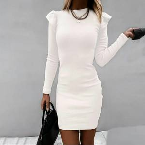 Платье короткое с длинным рукавом А55066