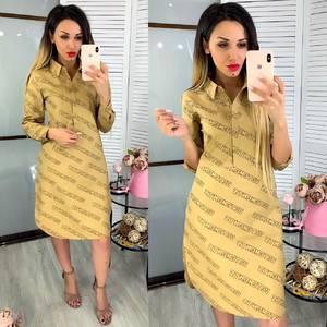 Платье короткое нарядное Ц7228