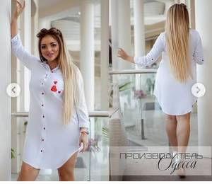 Платье короткое однотонное Ч6999