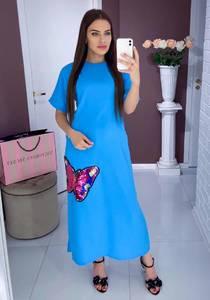 Платье длинное нарядное Ю0419