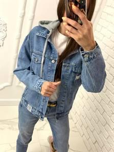 Джинсовая куртка Я7499