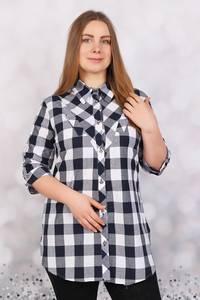 Рубашка в клетку Ч5644