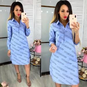 Платье короткое нарядное Ц7230